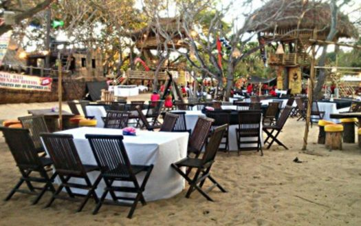 Bali Immobilier - Infos - Le restaurant Pirates Bay