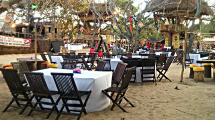 Bali Immobilier - Infos - Le restaurant Pirates Bay